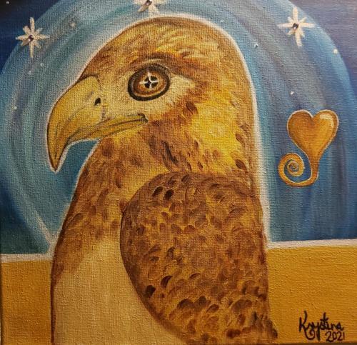 Powerful Horus (Hawk)